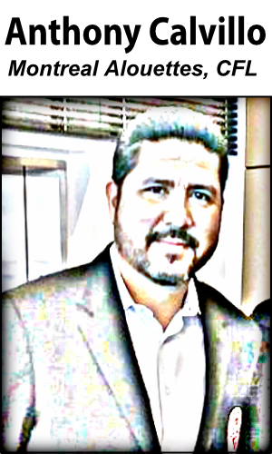 Anthony Calvillo - CFL